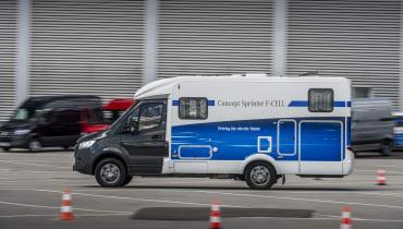 Mercedes stellt seinen Brennstoffzellen-Sprinter vor