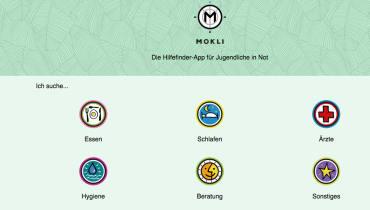 Die Plattform Mokli soll Straßenkindern schnelle Hilfe bringen