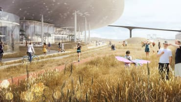 Faraday Future könnte pleite sein – plant aber einen neuen Sci-Fi-Campus