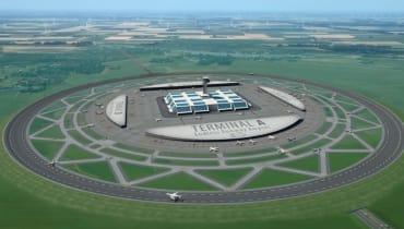 Sind runde Flughäfen die Zukunft der Luftfahrt?