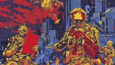Krieg im Jahr 2040: Wenn intelligente Maschinen Soldaten jagen