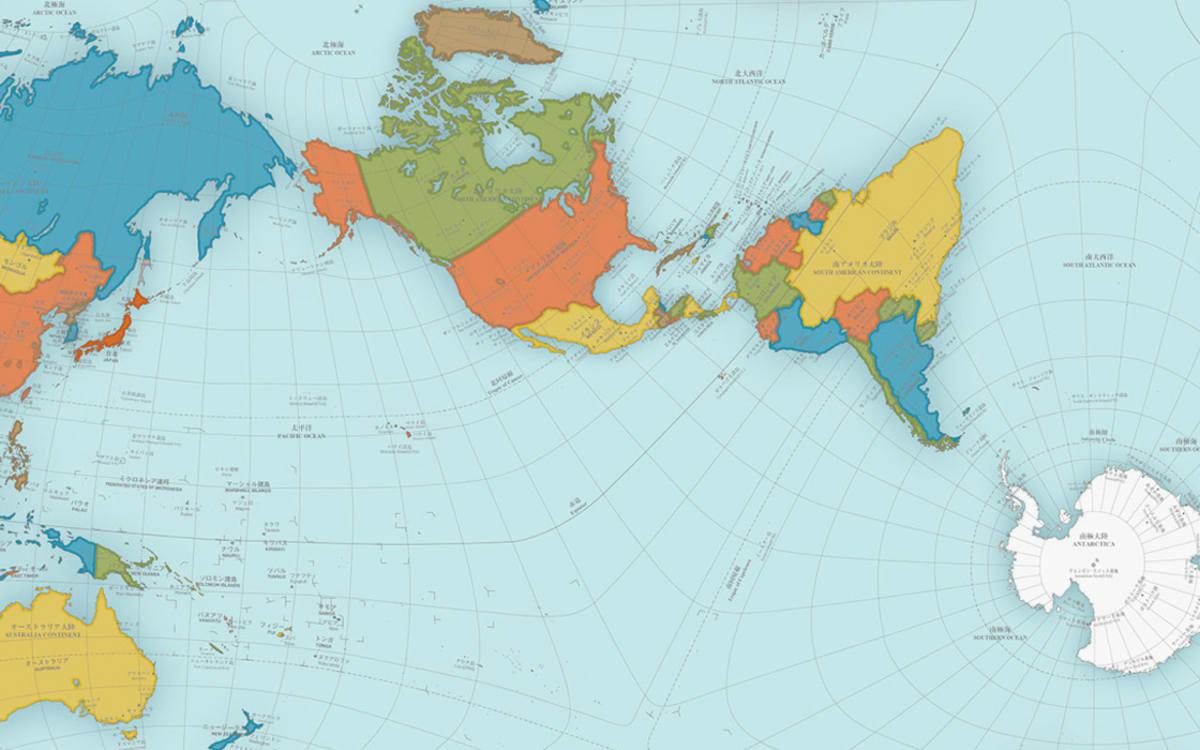 Diese Seltsame Weltkarte Ist Die Genaueste Die Es Gibt Auto Und