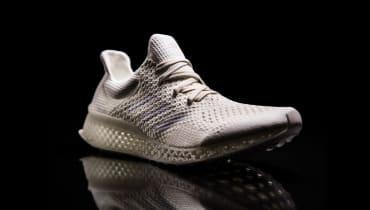 Wir haben die limitierten 3D-Drucker-Schuhe von Adidas anprobiert