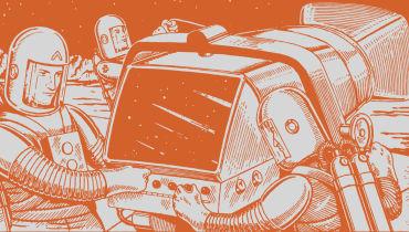 Erika Ilves plant interplanetare Reisen und die Besiedlung des Weltalls