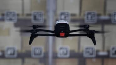 Drohnen: Wenn fliegende Lagerarbeiter bei der Inventur helfen
