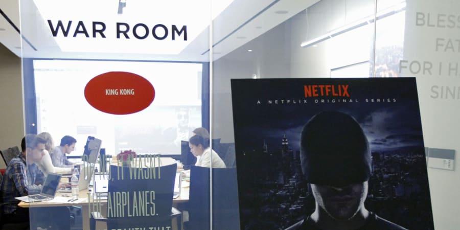 """Zum Start von """"Daredevil"""" waren wir im War Room von Netflix ..."""
