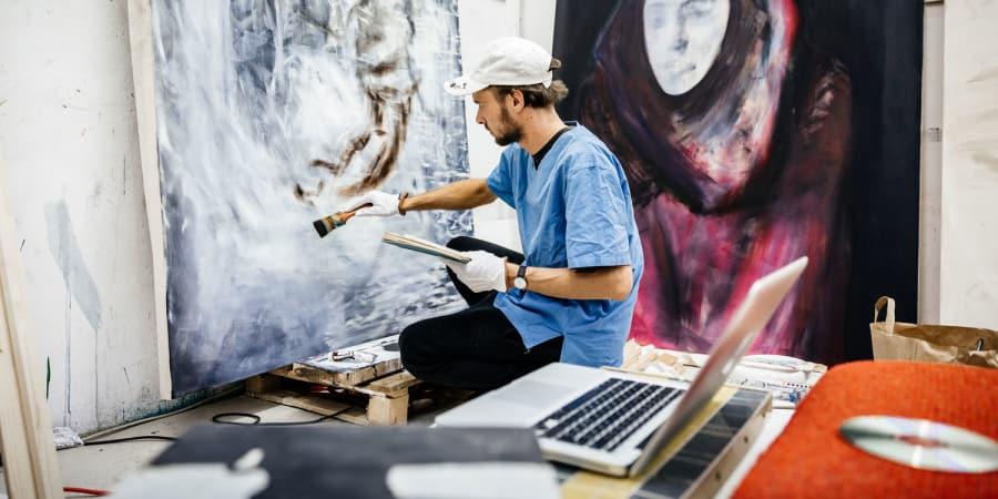 Diesen Kunstlern Solltet Ihr Auf Instagram Folgen Wired Germany