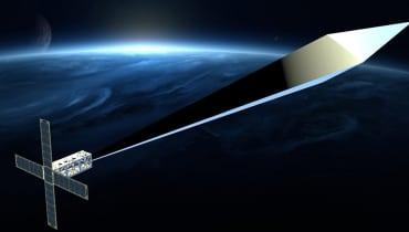 Ein Satellit mit einem Ballon soll die erste Kunstskulptur im Erdorbit sein