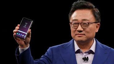 Das Galaxy S9 ist das erste Premium-Telefon mit einer mechanischen Blende