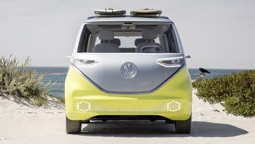 Der E-Bulli von VW wird Gesichter erkennen