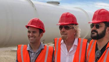 Aus Hyperloop One wird Virgin Hyperloop One
