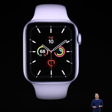 Technik : Apple Watch Series 5: Das kann die neue Smartwatch-Generation