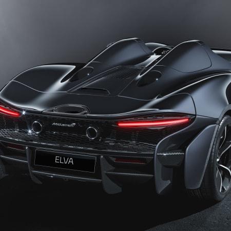 Sportwagen : Weltpremiere für den McLaren Elva Roadster: Leichter Zweisitzer mit starken 815 PS