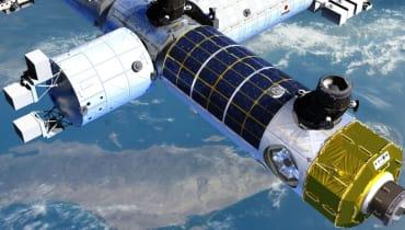 Die erste private Raumstation soll sich mit Werbung finanzieren