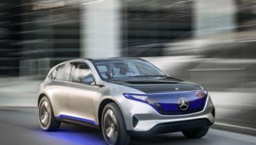 Im September will Mercedes sein Serien-Elektroauto enthüllen