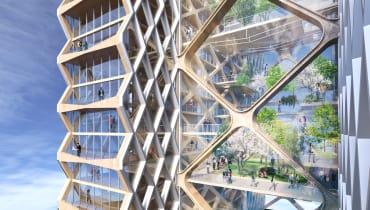 Von wegen Leichtbau: Wolkenkratzer aus Holz sollen die Städte retten