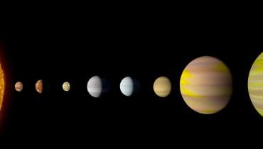 Andere Sonnensysteme haben auch schöne Planeten