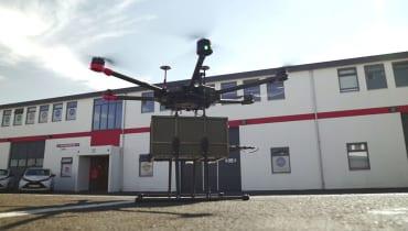 In Island startet der erste echte urbane Drohnenlieferdienst