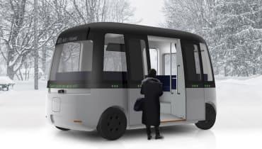 Muji entwickelt einen freundlichen Selbstfahr-Bus für Finnland