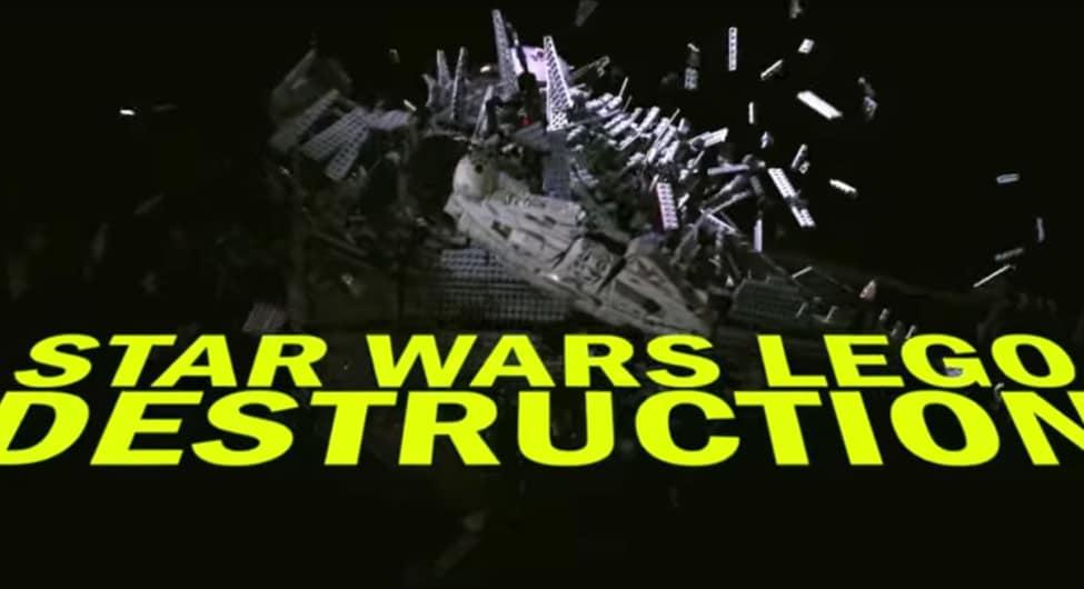 Star Wars Lego Destruction