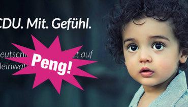 """Peng! erklärt #CDUmitGefühl: """"Fake – aber keine Fake News"""""""