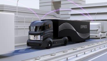 Platooning: Die ersten vernetzten LKW rollen durch Deutschland