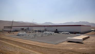 Tesla hat einen Bauplatz für die Gigafactory 3