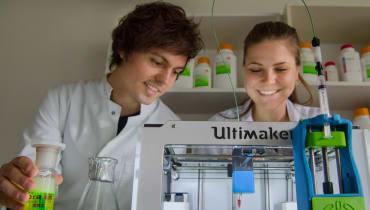 Münchner Studierende kommen dem gedruckten Herzen einen Schritt näher