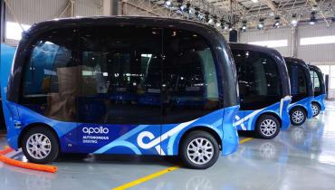 In China werden bald autonome Baidu-Busse fahren