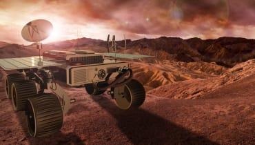 Airbus arbeitet an Mars-Rover, der Gesteinsproben sammeln soll