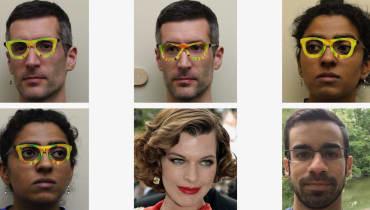 Eine Sonnenbrille für 22 Cent schützt vor Gesichtserkennung