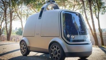 Ex-Google-Mitarbeiter bauen ein autonomes Lieferauto