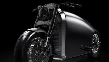 Raumschiff + Motorrad = Odyssey