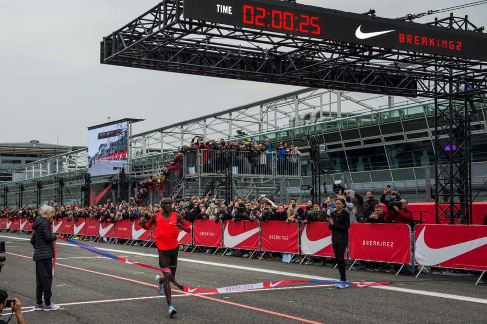 Beim Schuh Diesem Die Will Nike 2 Marke Berlin Marathon Mit Stunden OkTPZiXu