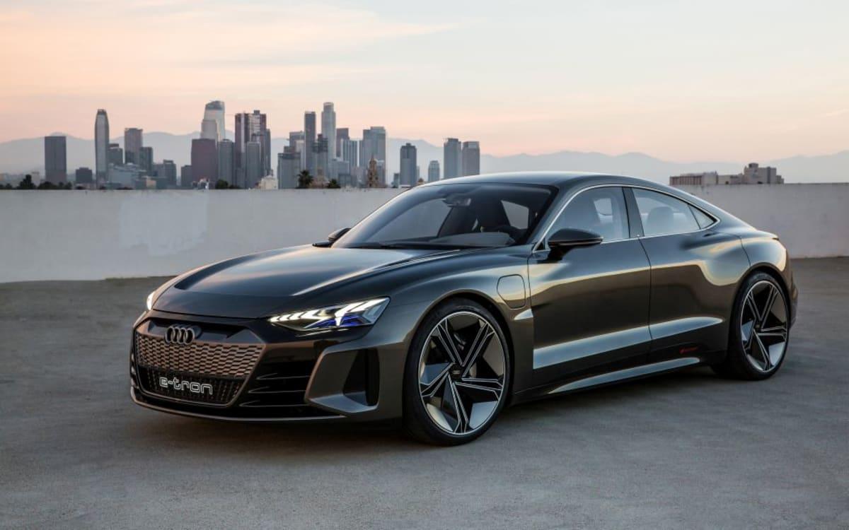 Audi präsentiert mit dem e-tron GT concept sein nächstes ...   audi luxury sports car