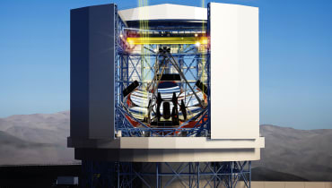Boeing hilft beim Bau des Riesenteleskops