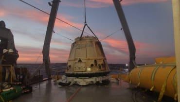 SpaceX hat erstmals eine Dragon-Kapsel zweimal gelandet