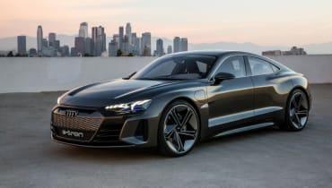 Audi präsentiert mit dem e-tron GT concept sein nächstes Elektroauto