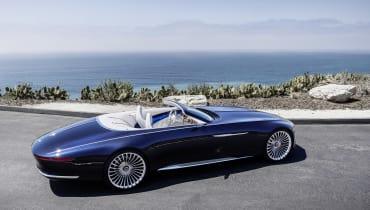 Mercedes kombiniert Vergangenheit und Zukunft beim Luxus-E-Cabrio