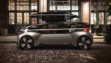 Volvos Konzeptauto ist ein autonom fahrendes Wohnzimmer