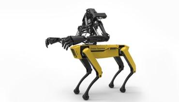 Jemand hat dem SpotMini-Roboter menschliche Arme verpasst – und das ist echt gruselig