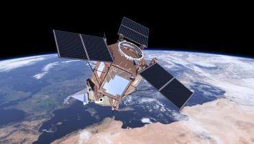 So könnte ein Satellit bald vielen Menschen beim Durchatmen helfen