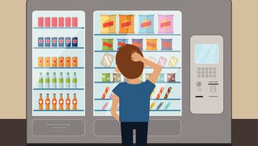 Der Snackautomat der Zukunft denkt mit und sammelt Daten