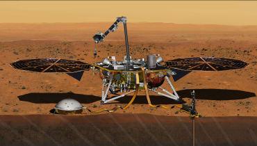 NASA-Roboter InSight landet mit deutscher Technik auf dem Mars