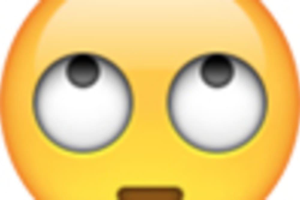 emoji augen rollen