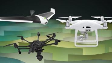 All you can fly: Die besten Drohnen für den Frühling