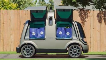 Diese knuffigen Mini-Busse liefern in Arizona bald Lebensmittel