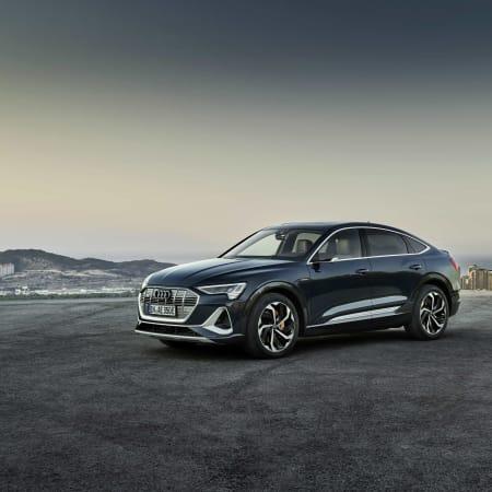 Autos : Audi präsentiert neues SUV-Coupé e-tron Sportback