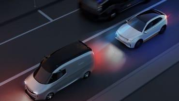 Ein Apple-Auto hatte einen Verkehrsunfall