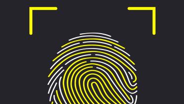Vivos Touchscreen erkennt den Fingerabdruck